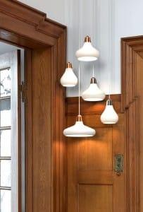 White pendant lights wood details new for 2014-2015