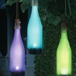 Colourful Solar Bottles