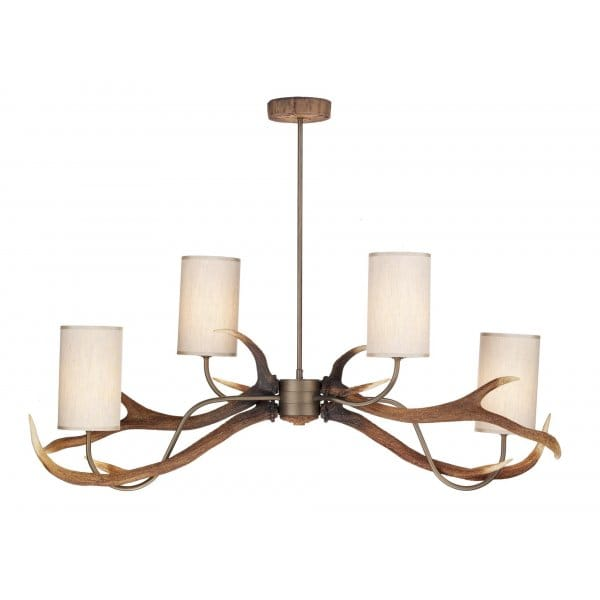 Nice The David Hunt Lighting Collection Antler Ceiling Light