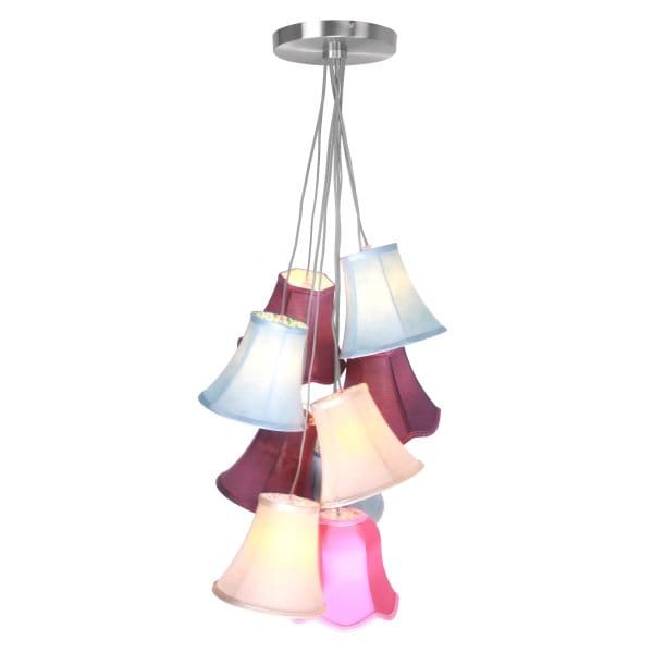 Eclectic CLUSTER Colourful Ceiling Pendant (9 Light)