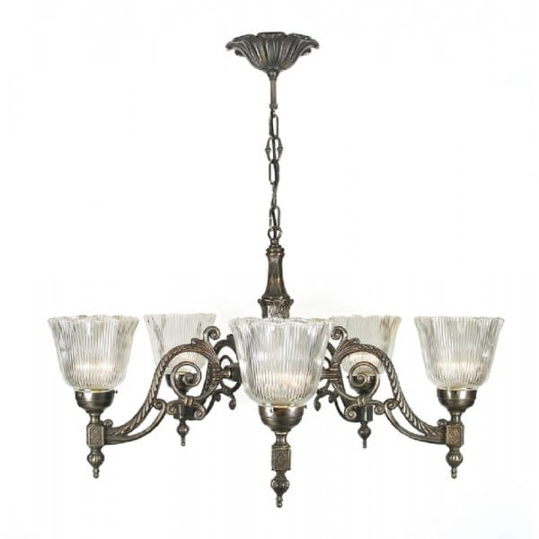 classic-british-lighting-chandelier-traditional-aged-brass-with-halophane-glass-shades-p2649-4210_image