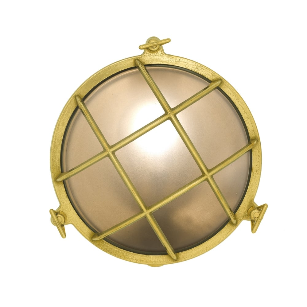 davey-lighting-7027-round-brass-bulkhead-with-frosted-glass-and-front-guard-p11965-22861_image