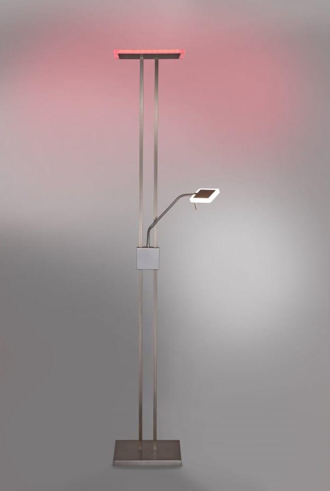 Smart Light Q-VIDAL RGB LED colour change mother and child floor lamp