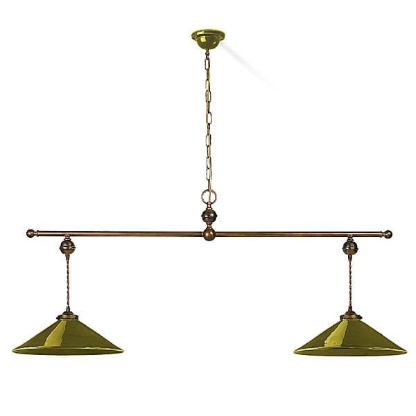 Period Ceramic Ceiling Bar Pendant Light 2 Light Great