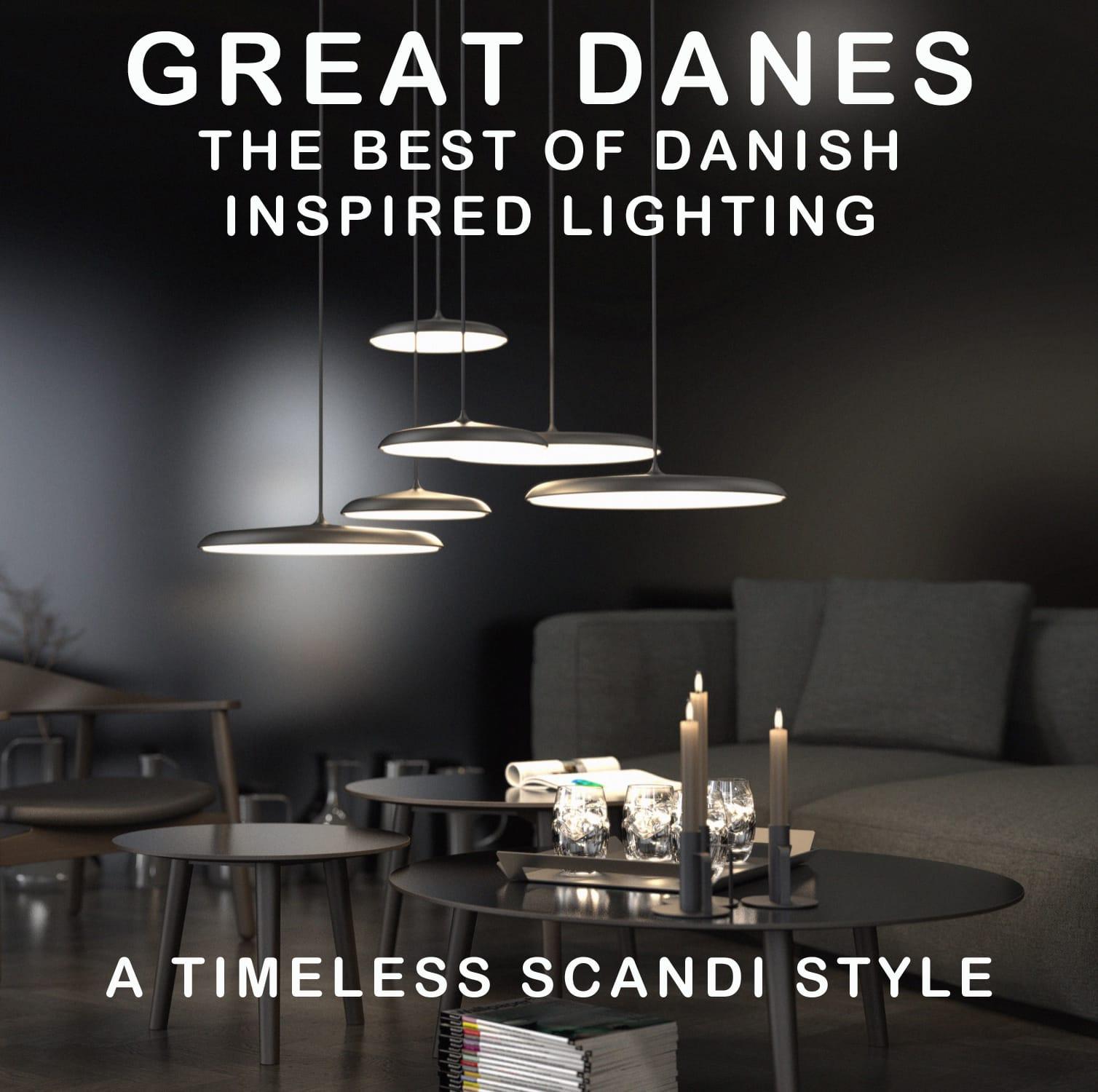 Great Danes The Best of Danish Inspired Lighting The