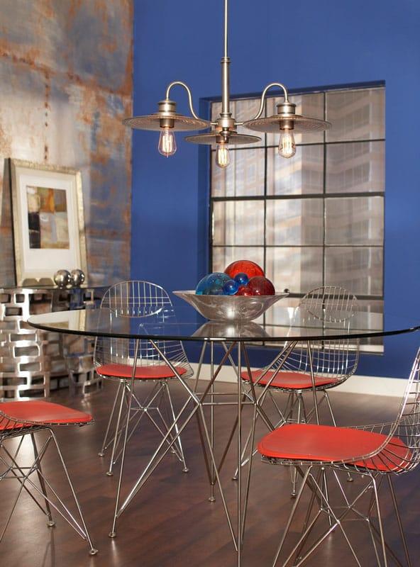 The Lighting CompanyFeiss  URBAN RENEWAL industrial style bronze mini ceiling pendant light