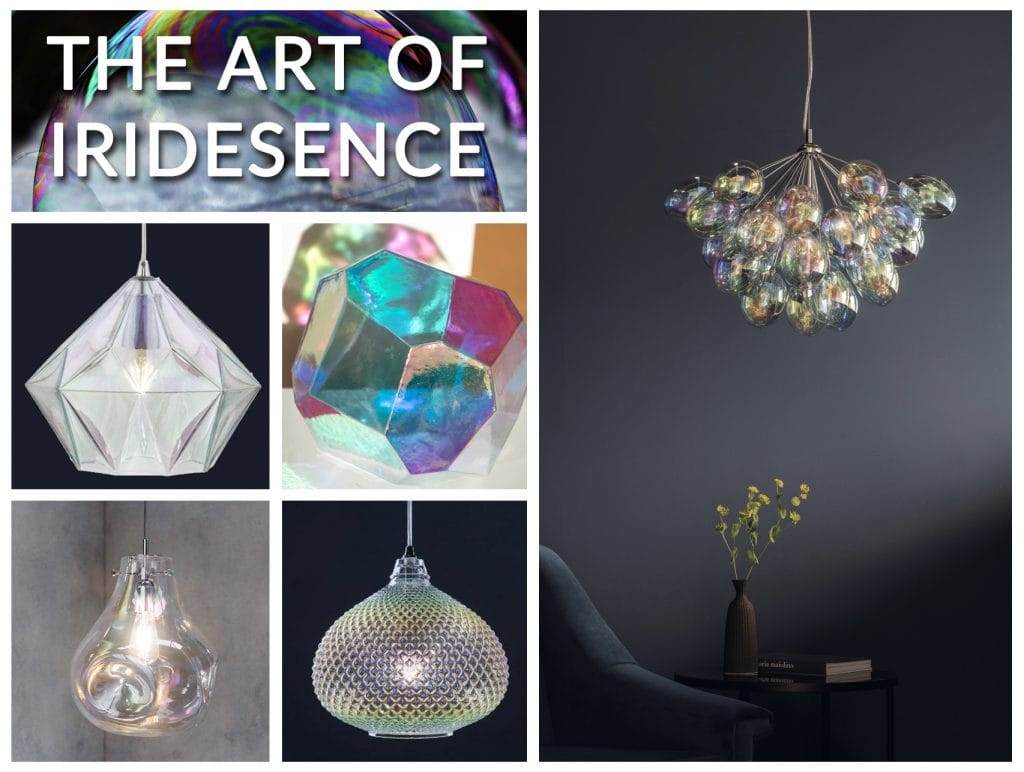 Iridescent Lights | Beautiful Colours; The Lighting Company UK