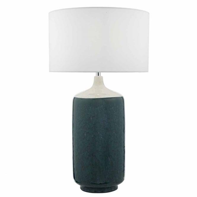 The Lighting Book  HULDA white and green glaze ceramic table lamp base