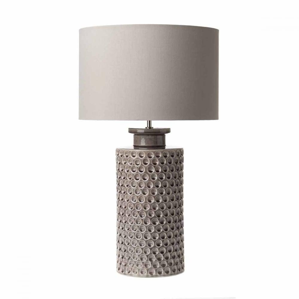 The Lighting Book  MELBA ceramic mauve glazed table lamp base