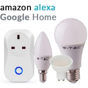 amazon alexa and google home light bulbs