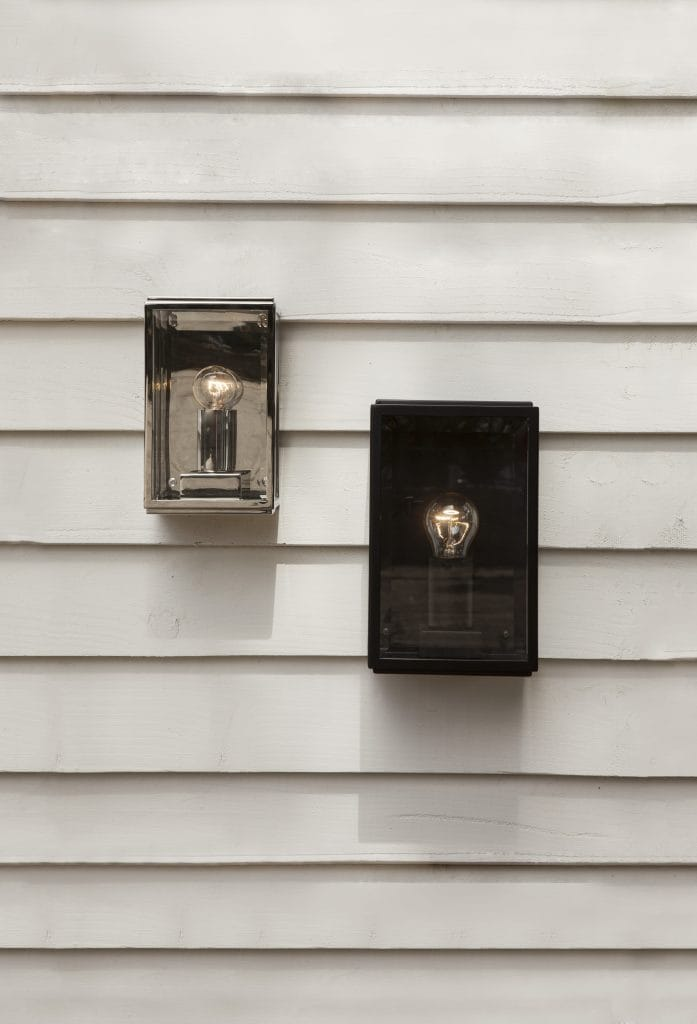 HOMEFIELD outdoor wall light in bronze plated finish by The Lighting Company