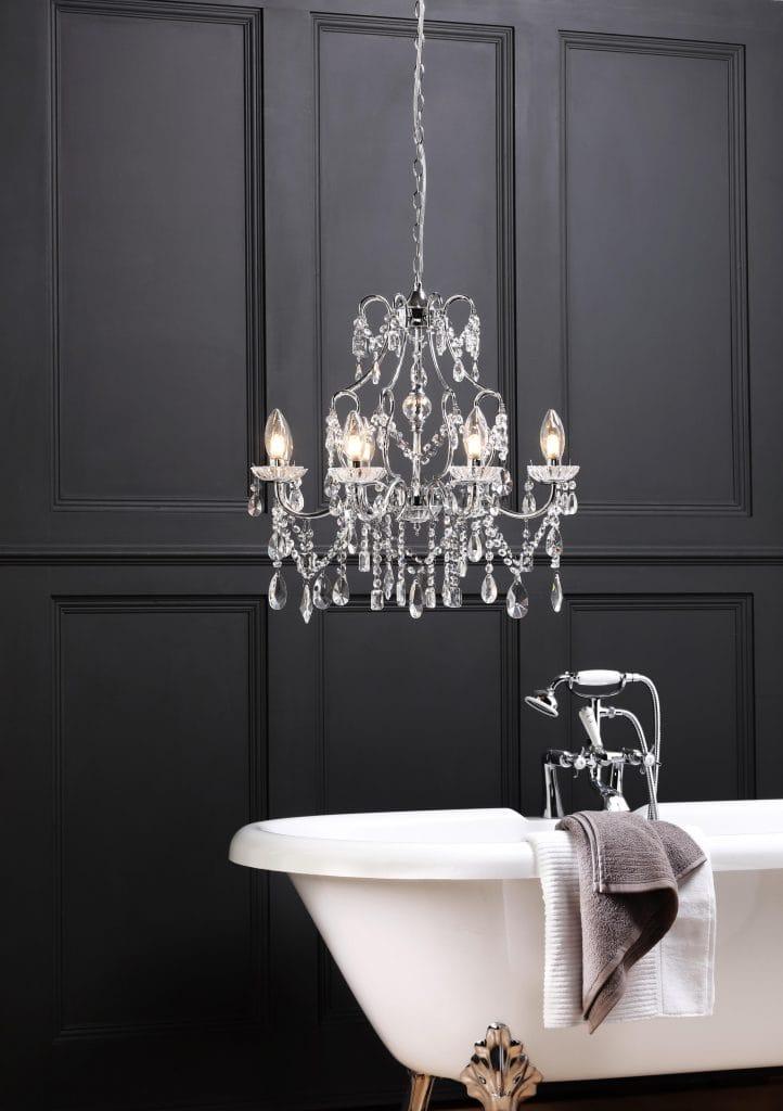 bathroom lighting chandelier