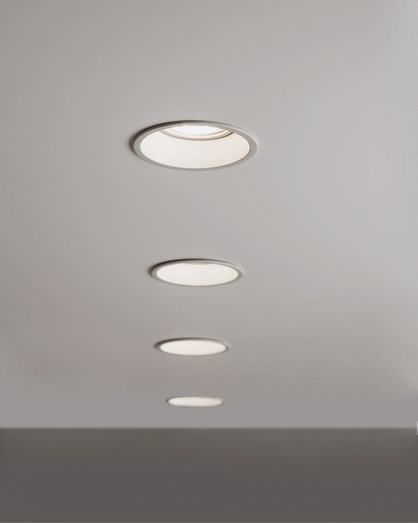 bathroom recessed spotlight