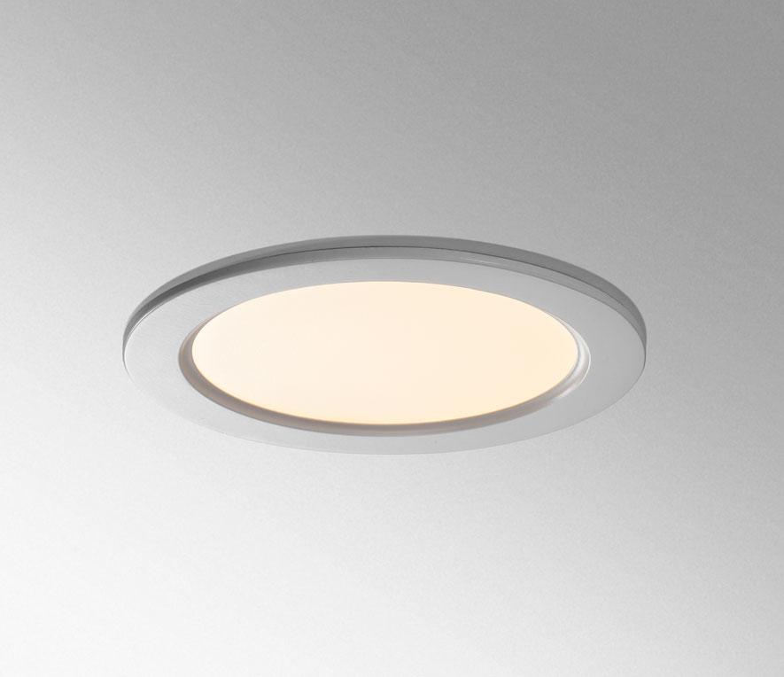 recessed bathroom light