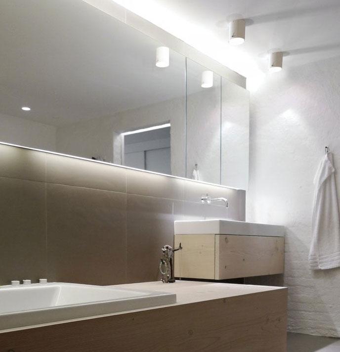 bathroom lighting spotlights
