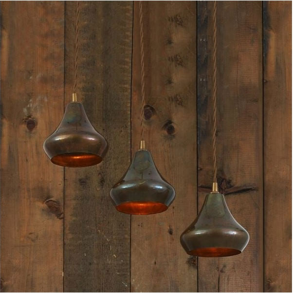 Monaghan Lighting AMINA Single Moroccan Pendant Antique Brass from Lighting Company UK