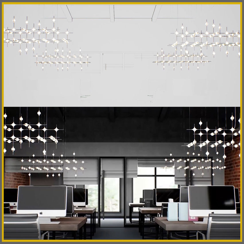 LED modular lighting: Connects by Lokuko Lighting