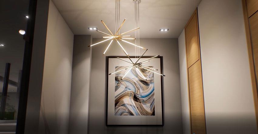 Link by Lokuko Lighting Modular LED lighting by Lighting Company