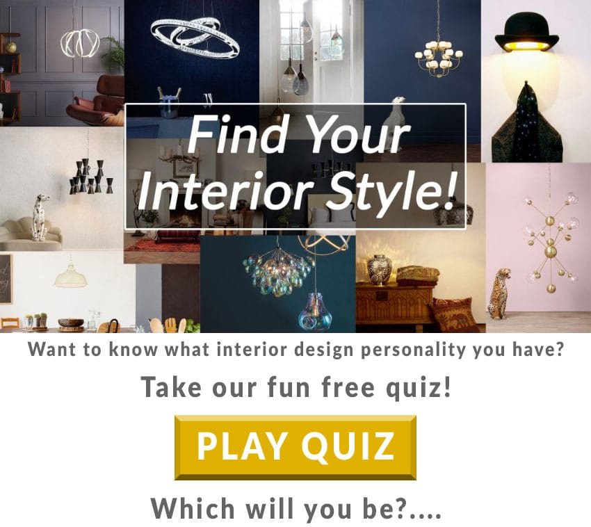 Free Personality Quiz to shed Light on your Interior Style!