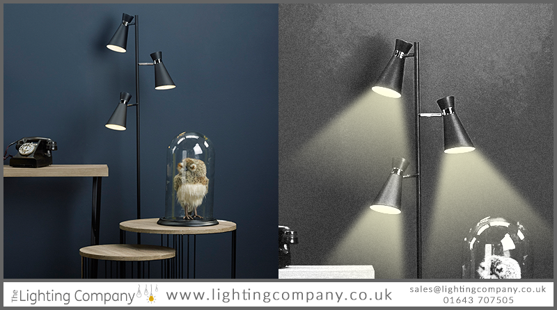 multi branch floor lamp