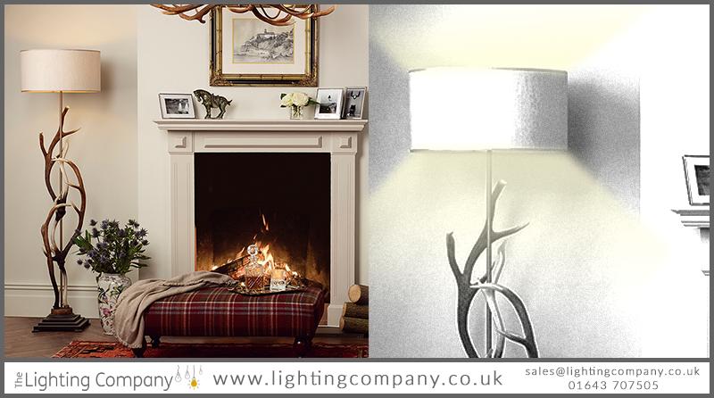 statement floor lamp