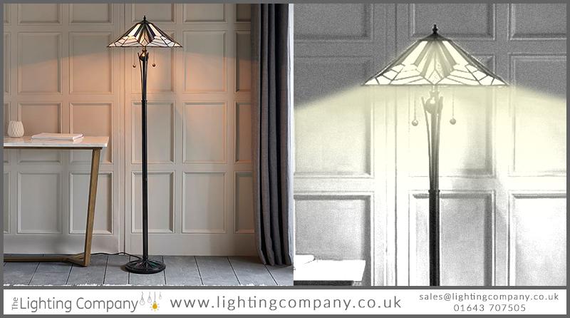 tiffany standard floor lamp