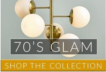 70's Glam Lighting | Lighting Company UK