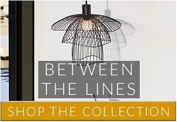 Between The Lines | Cages, Slats and Wire Framed Lighting