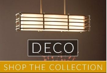 Deco Lighting | Geometric Style from the 20's and 30's