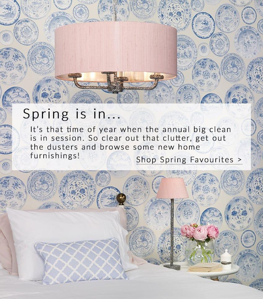 Spring Time Lighting | Lighting Company UK