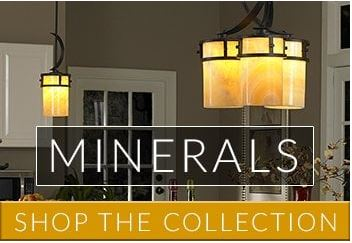 Minerals | Lighting with Natural Stone and Effect by Lighting Company UK