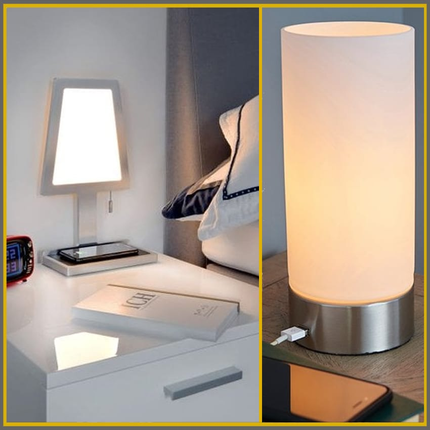 USB Port / Inductive Charging Table Lamps   Lighting Company UK