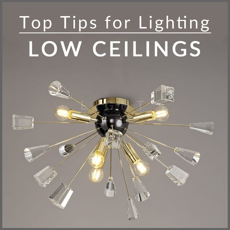 Lighting Low Ceilings The Lowdown On The Best Lights For Shorter Heights The Lighting Company