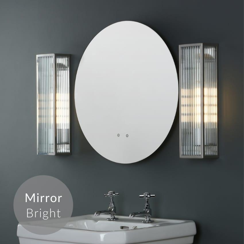 Bathroom Mirror Lights - Over Mirror Lighting & Side Mirror Lights