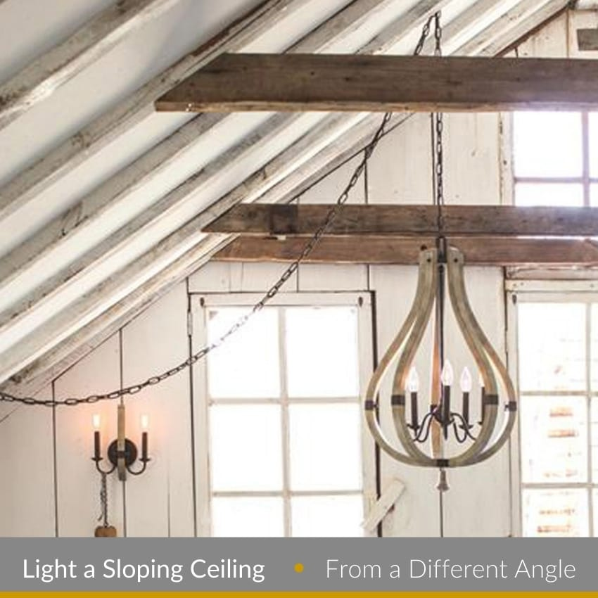 Light A Sloping Ceiling Lighting From A Different Angle The Lighting Company
