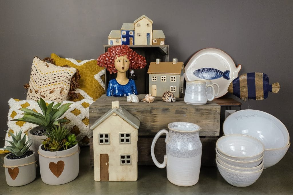 Homeware gifts and ornaments