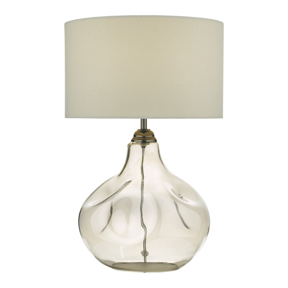 designer glass table lamps