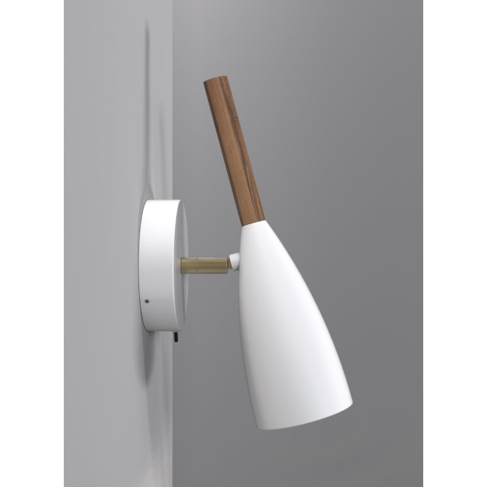 plug in wall light white