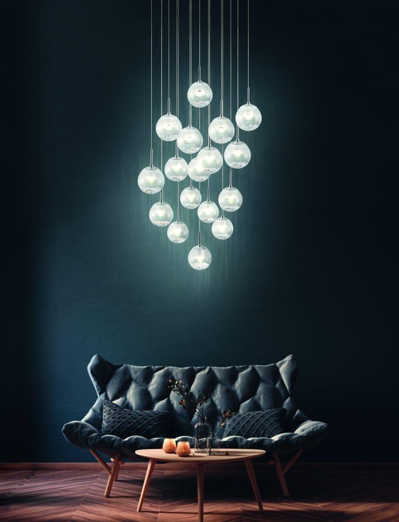 Ceiling pendant cluster lights