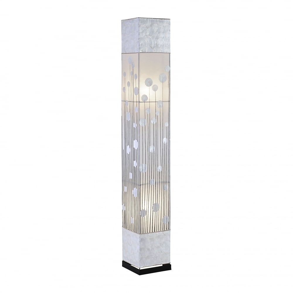 Decorative contemporary floor lamp with frosted diffuser contemporary patterned silver floor lamp mozeypictures Image collections