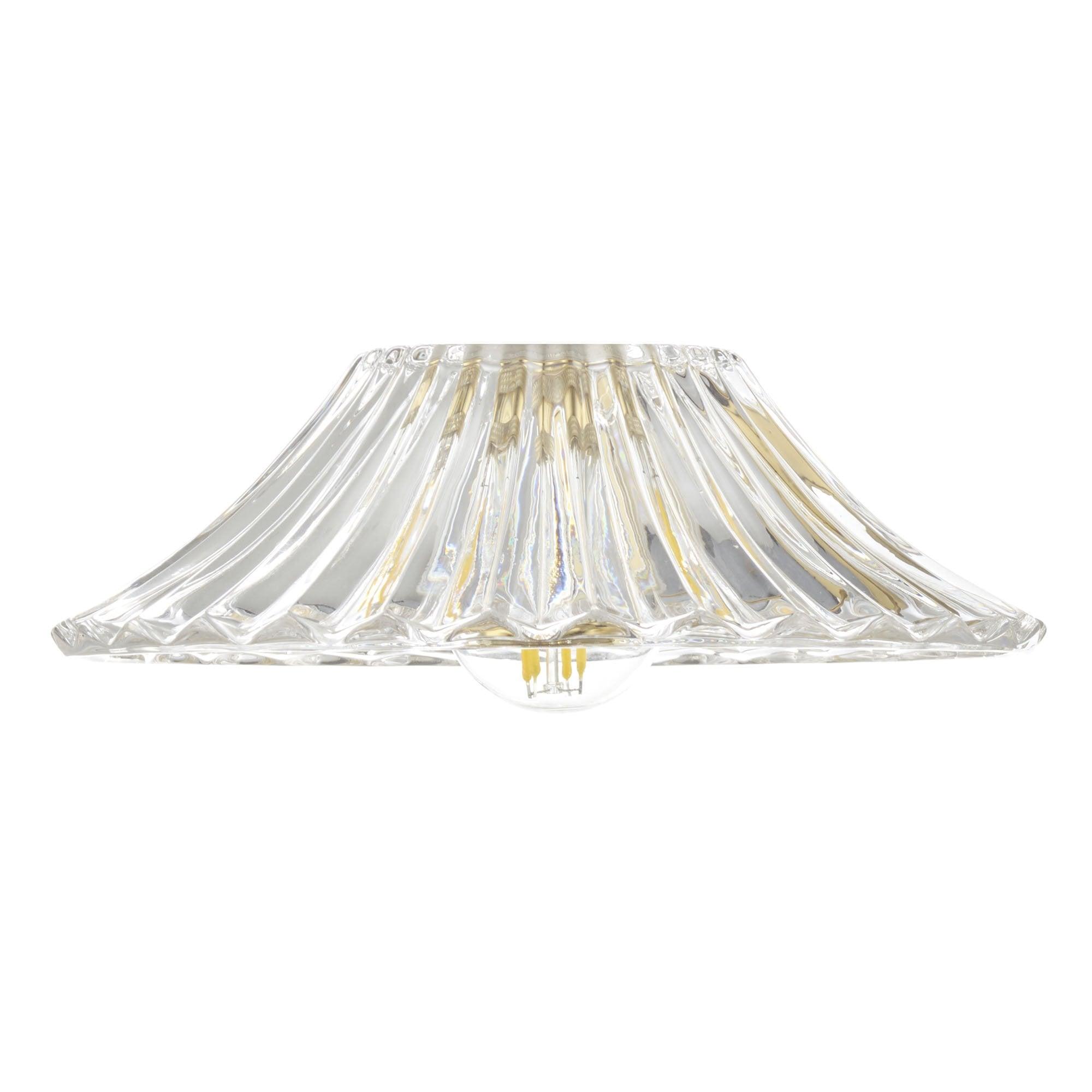 Accessory Clear Flared Glass Shade Lighting Company Uk