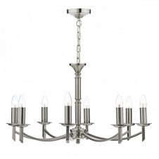 Classical Chandelier style Light unfussy simple elegant.