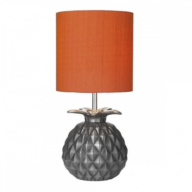 Textured table lamp geometric stylised pineapple lamp buy unusual lamps lighting trends for 2016 textured geometric lamps aloadofball Choice Image