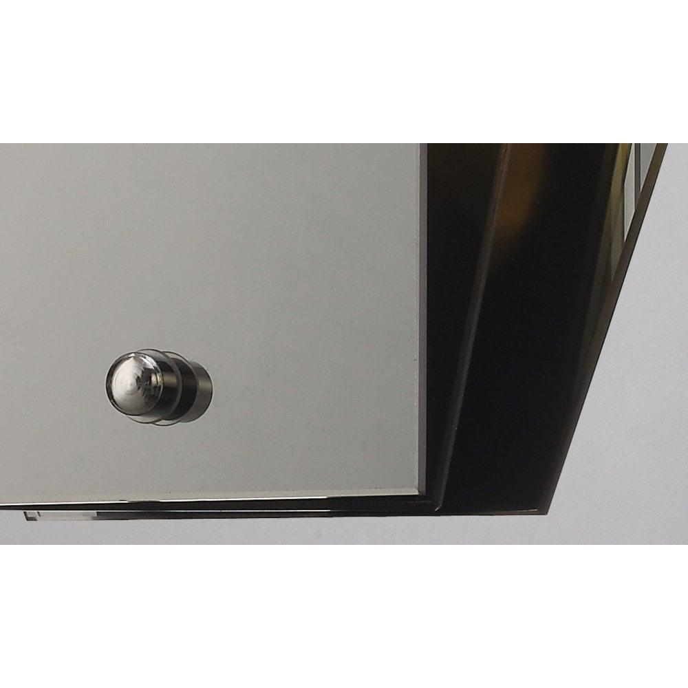 Deco Fan Wall Light Mirror And Black Lighting Company Uk