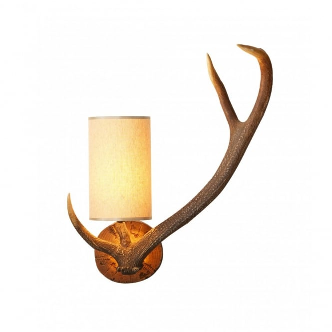 ANTLER Stag Wall Light