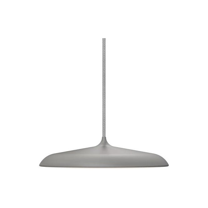 ARTIST 25 modern LED ceiling pendant in grey finish