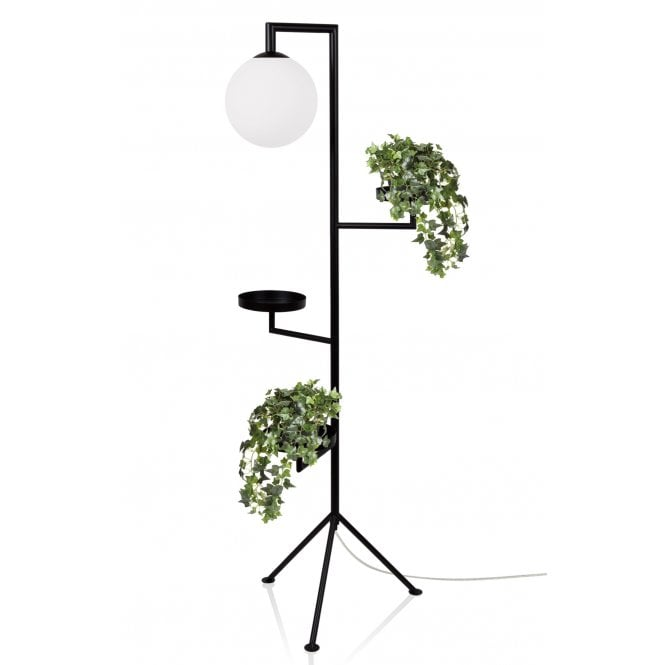 Black Floor Lamp With Shelves Design Lighting Company