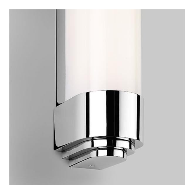 BELGRAVIA polished chrome bathroom LED wall strip (medium)