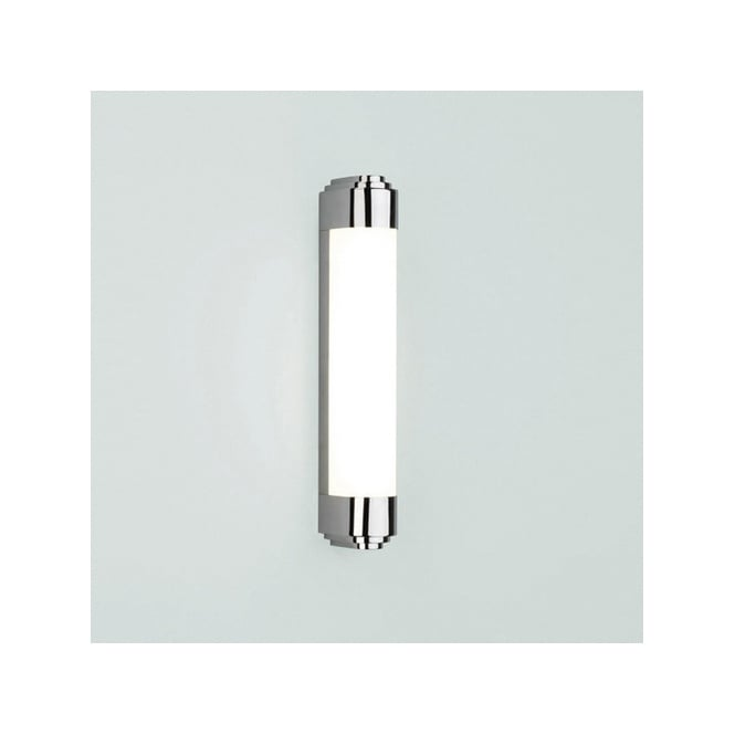 Small Strip Light Polished Chrome Bathroom Strip Light With Diffuser Double  Insulated