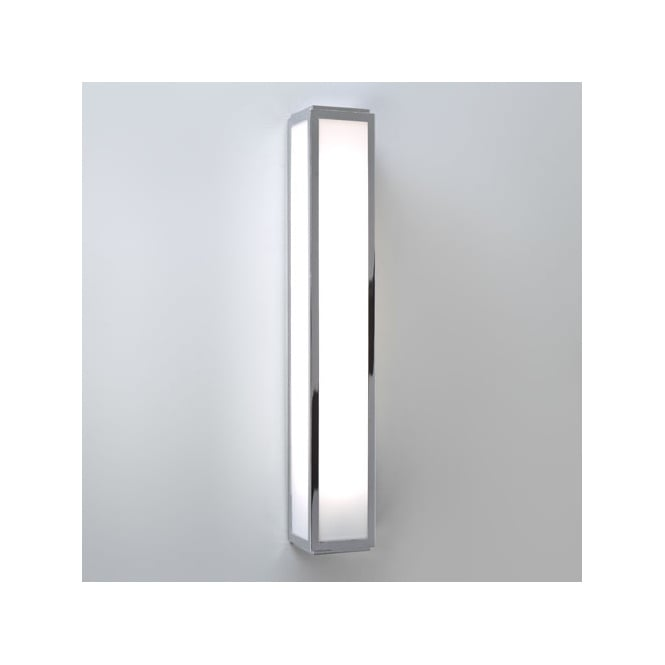 Astro MASHIKO contemporary bathroom LED wall strip light in chrome